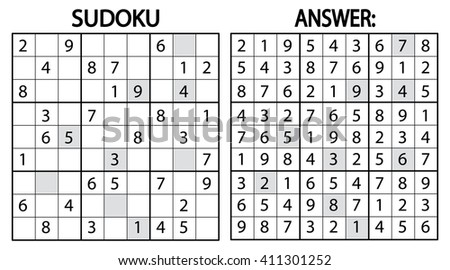 sudoku game download free vector art stock graphics images