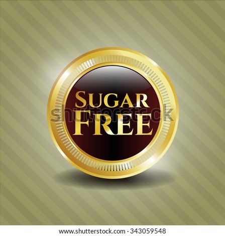 Sugar Free shiny badge