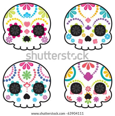 Mexican Sugar Skull Done Browsing Deviantart Sugar Skull