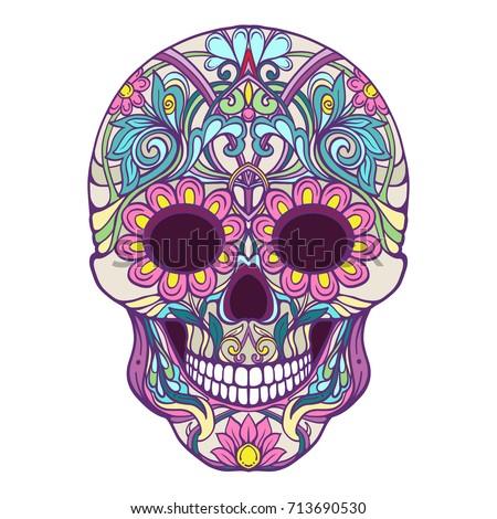 sugar skull the traditional