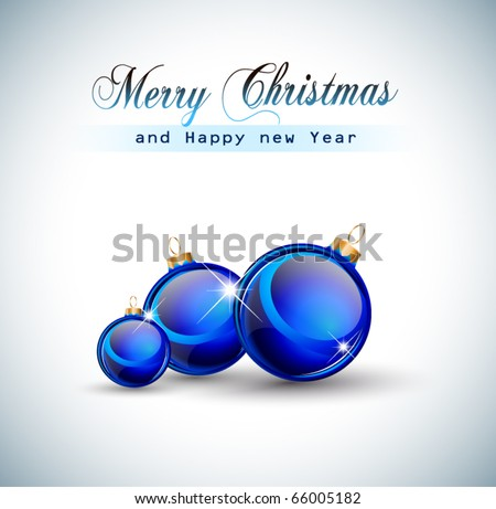 Suggestive Elegant Christmas Backgrounds with Stunning Baubles and Glitter elements