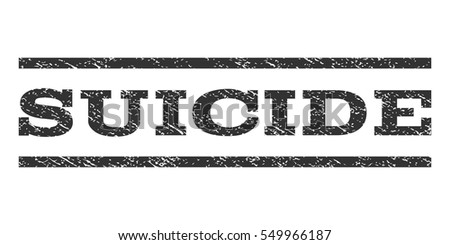 suicide watermark stamp text