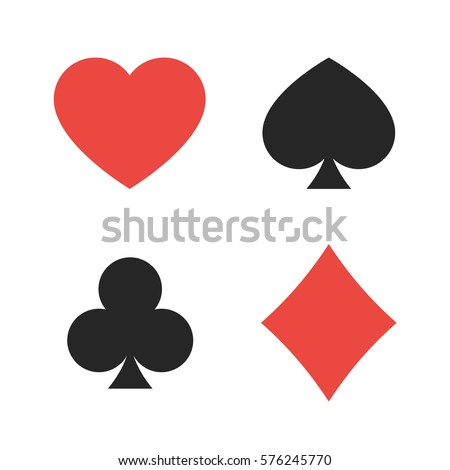 suit of playing cards. vector...