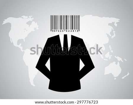 suit silhouette character with