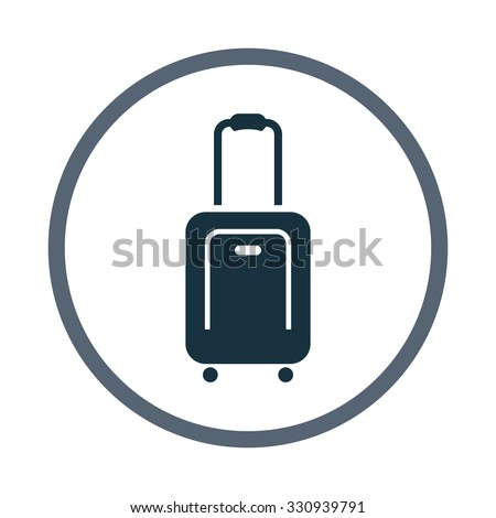 Shutterstock Suitcase icon