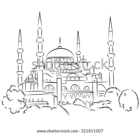 sultan ahmed mosque is located