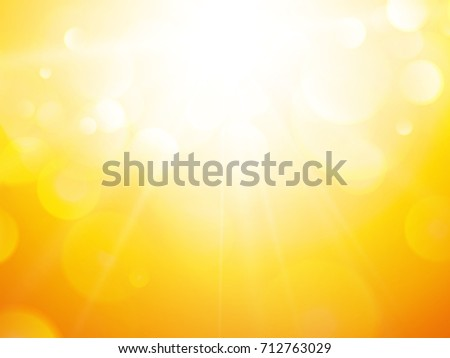 summer abstract background with sun