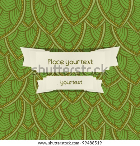 summer Abstract floral background with place for your text 9