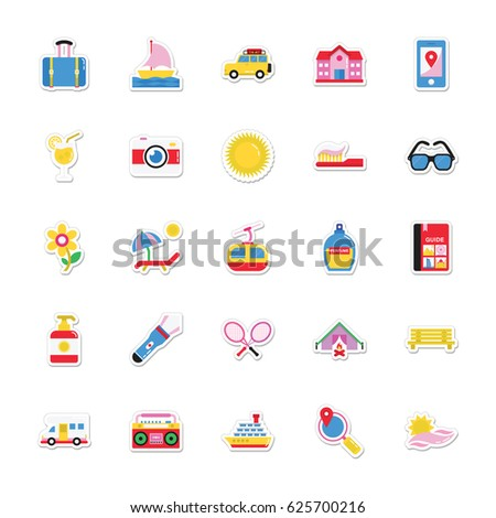 summer and holidays vector