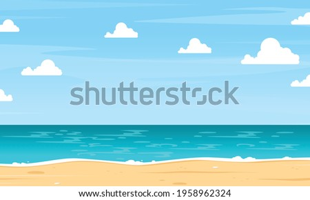summer background in the
