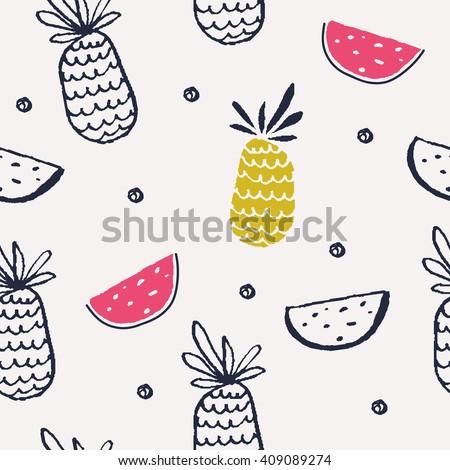 summer background pattern in