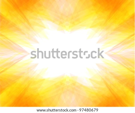 summer background with hot colors
