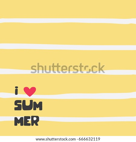 Summer backgrounds collection. Vector illustration design.