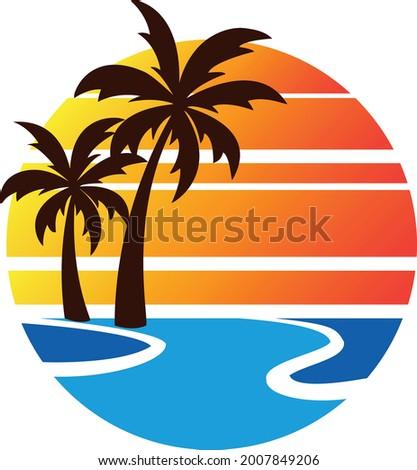 summer beach fun time with