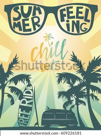 summer beach party card. summer ...