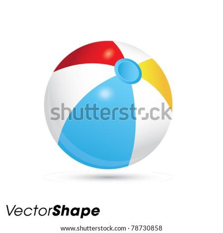 summer beach rubber air ball
