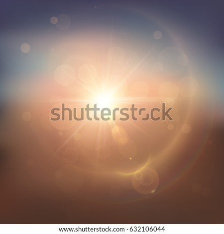 summer blurred background with