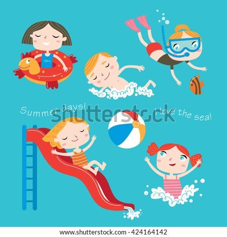 summer child's outdoor