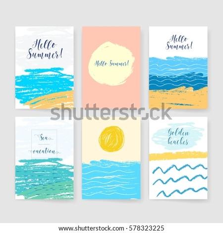 summer collection sea