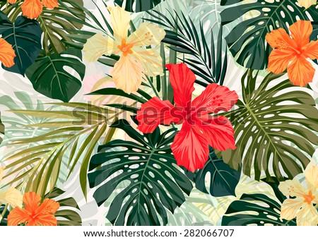 summer colorful hawaiian