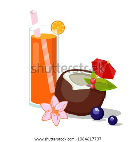 summer drink  juice  freesia