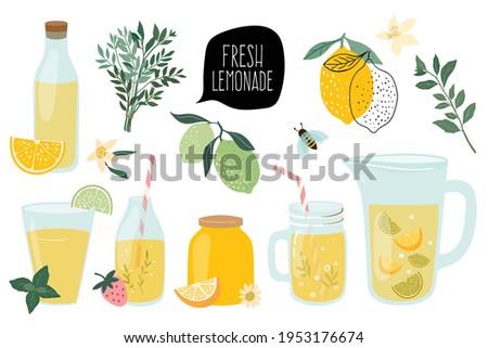 summer fresh lemonade
