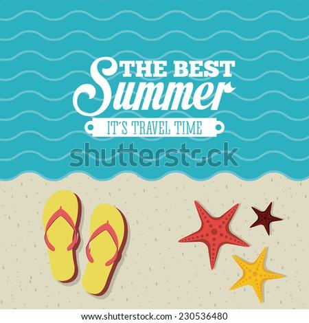 summer graphic design   vector
