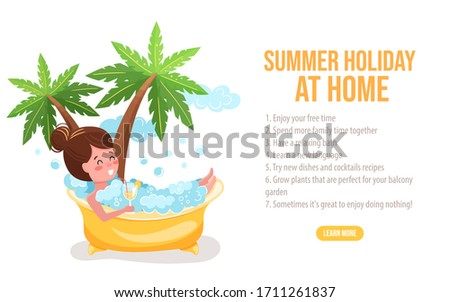 summer holiday at home 2020
