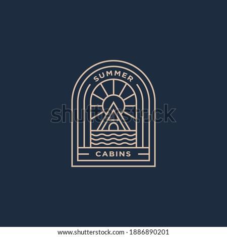 summer holiday cabins