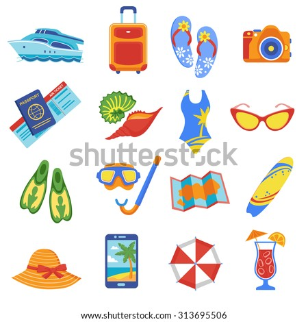 summer holiday tropical beach