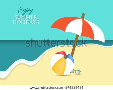 summer holidays - Shutterstock ID 596558456