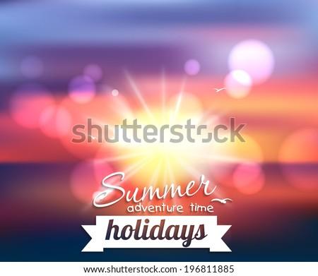 summer holidays   beautiful