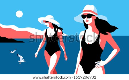 summer holidays concept two