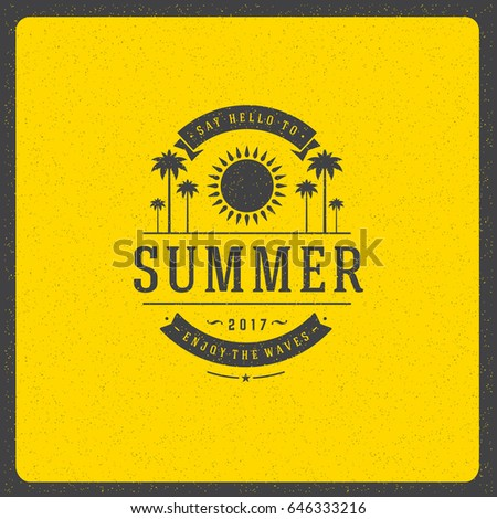 summer holidays poster design