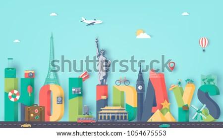 summer holidays travel and