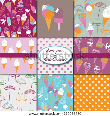 Summer & Ice Cream Collection
