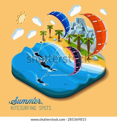 summer kitesurfing sportpart