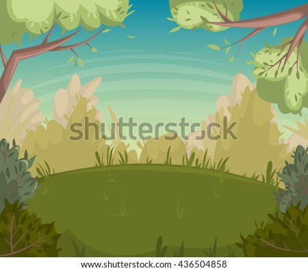 summer landscape forest