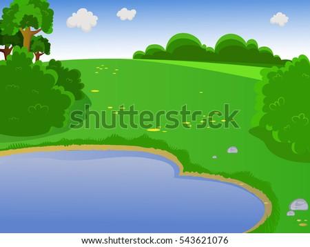 summer landscape landscape
