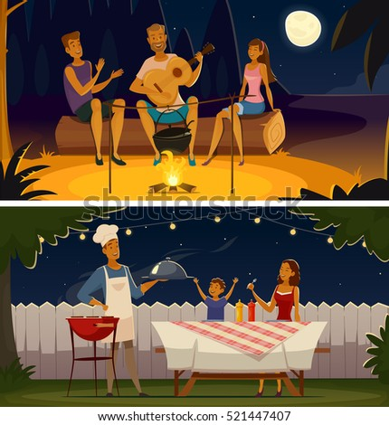 summer night barbecue party 2