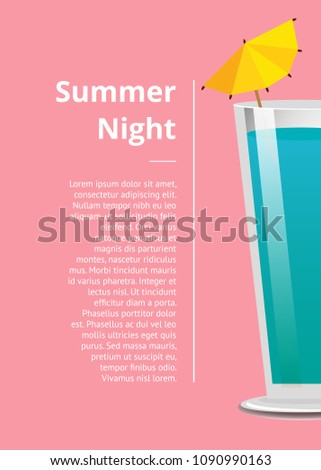 summer night cocktail party