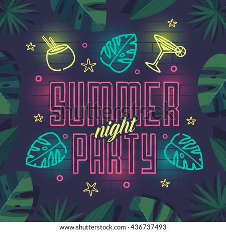 summer night party summer