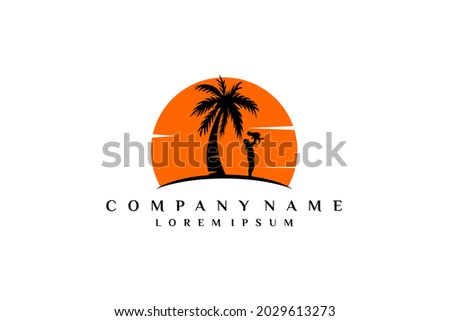summer palm relaxation logo