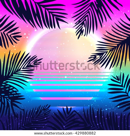 summer party holiday background