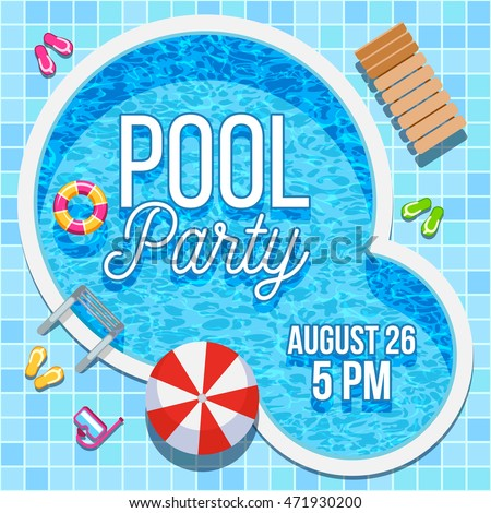 pool party invites free