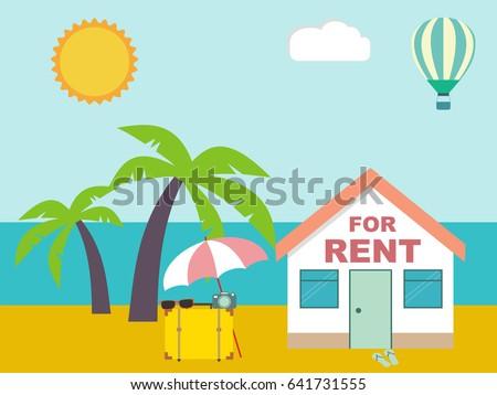 summer resort house for rent