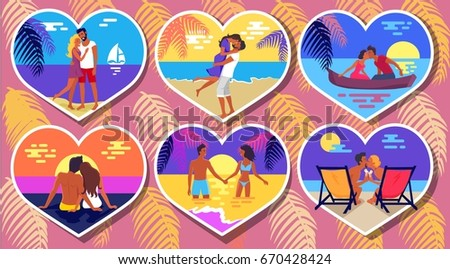 summer romance in six heart...