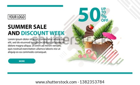 summer sale and discount week