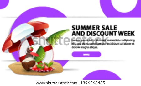 summer sale and discounts week