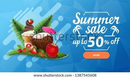 summer sale  discount web